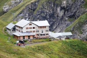 Die Kemptner Hütte