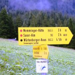 Noch 3 Stunden bis zur Memminger Hütte