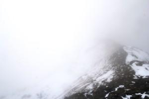 E5 Wetter: Schnee & Nebel