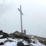 Das Gipfelkreuz vom Venet