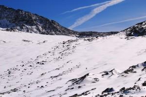 Die Schneegrenze ist erreicht