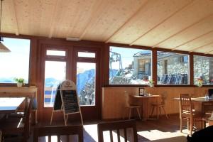Ausblick aus der Similaunhütte