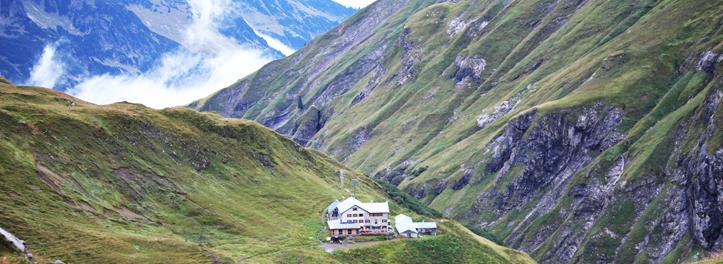 Start auf dem Kemptner Hütte