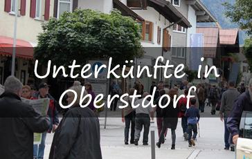 Übernachtung in Oberstdorf